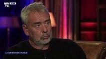 Les larmes de Luc Besson apres avoir confié ses adultères sur BFMTV