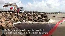 Brésil: de mystérieuses marées noires sur plus de 130 plages
