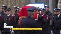 Hommage à la préfecture de police de Paris aux quatre agents tués