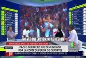 Paolo Guerrero fue denunciado por la Corte Superior de Deportes de Brasil