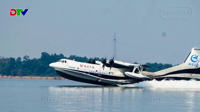 AVIC AG-600 - The New Chinese Seaplane When The Era Of Amphibious Planes Has Long Gone