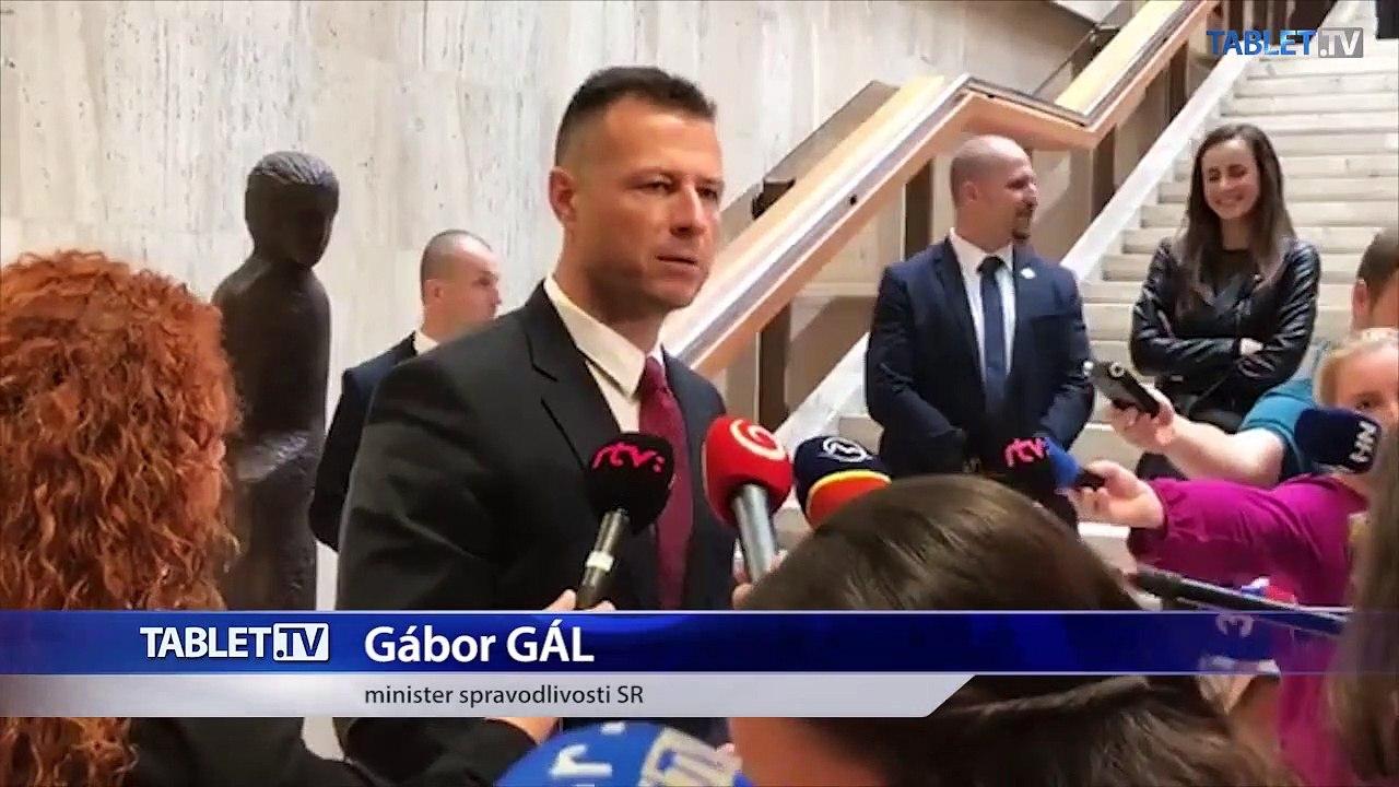 ZÁZNAM: Brífing ministra spravodlivosti Gábora Gála