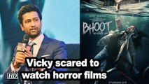 Vicky Kaushal's scared to watch horror films