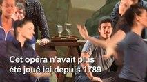 Répétition générale à l'Opéra Royal du Château de Versailles