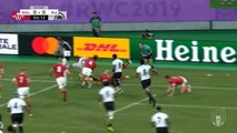 Wales see off Fiji to reach quarter-finals