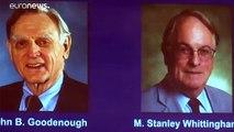 Le Nobel de chime 2019 attribué aux inventeurs de la batterie lithium-ion