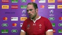 Alun Wyn Jones discusses Wales' win over Fiji