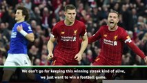 Winning eight games in a row is not easy! - Klopp
