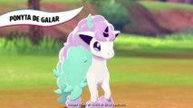 Pokémon Bouclier : Rencontrez le Ponyta de Galar !
