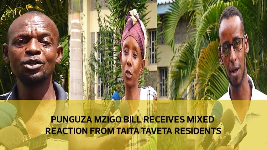 Punguza Mzigo Bill receives mixed reactions from Taita Taveta residents