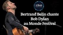 Bertrand Belin chante Bob Dylan au Monde Festival