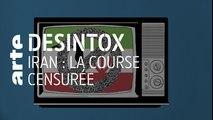 Iran : une course censurée ? | 09/10/2019 | Désintox | ARTE