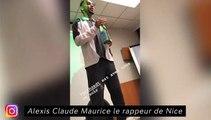 Alexis Claude Maurice le rappeur de Nice
