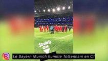 Le Bayern de Munich humilie Tottenham en C1