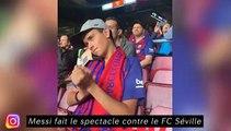 Messi fait le spectacle contre le FC Séville