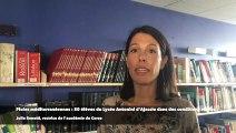 Pluies méditerranéennes intenses  : 50 élèves du Lycée Antonini d'Ajaccio dans des conditions réelles