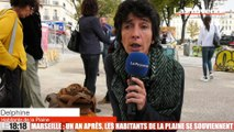 Le 18:18 - Marseille : un an après, les habitants de la Plaine commémorent la fin d'une époque