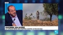 """Guerre en Syrie: """"Les Kurdes arrivent toujours en deuxième rang dans les négociations"""""""