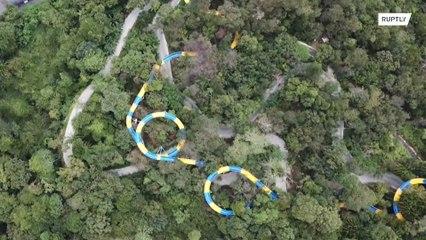 ماليزيا: أطول زلاقة مائية في العالم
