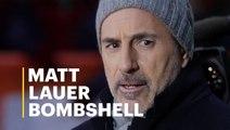 Matt Lauer Bombshell