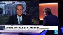 Trump Impeachment Inquiry: Democrats Subpoena Pentagon, White House Budget Office