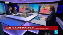 FRANCE 24 SPECIAL: Syrian Kurds fear the worst as Turkey launches offensive