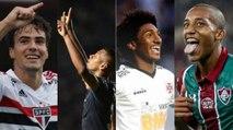 Veja os jovens que já marcaram gols neste Brasileiro