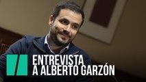 """Alberto Garzón: """"En absoluto me avergüenza decir 'España"""""""