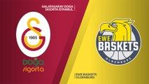 Galatasaray Doga Sigorta Istanbul - EWE Baskets Oldenburg Highlights | 7DAYS EuroCup, RS Round 2