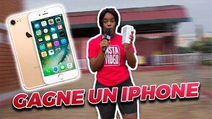 TROUVE LA REPONSE ET GAGNE UN IPHONE