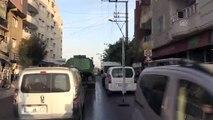 Barış Pınarı Harekatı - Nusaybin ilçe merkezindeki bazı noktalara roket isabet etti - MARDİN