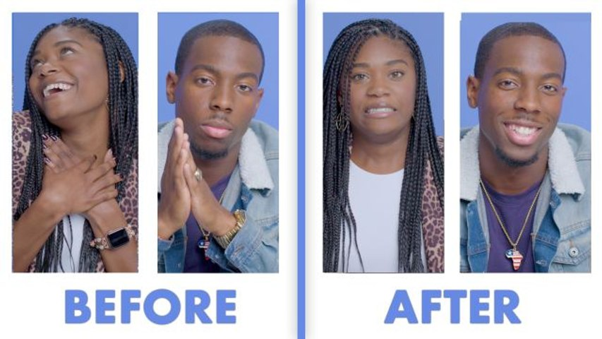 Interviewed Before and After Our First Date - Tajah & Dustin