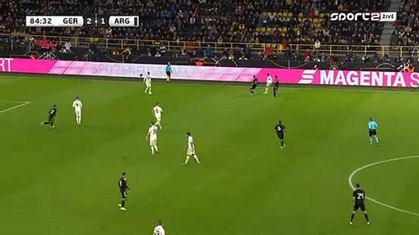 Lucas Ocampos Goal - Germany 2-2 Argentina 09.10.2019