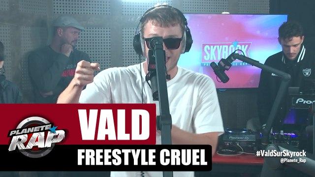 Vald - Freestyle Cruel #RecordBattu #PlanèteRap