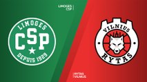 Limoges CSP - Rytas Vilnius Highlights | 7DAYS EuroCup, RS Round 2