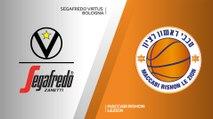 Segafredo Virtus Bologna - Maccabi Rshon Lezion Highlights | 7DAYS EuroCup, RS Round 2