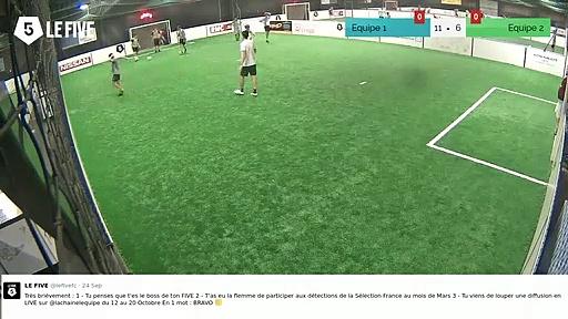 But de Equipe 2 (12-7)