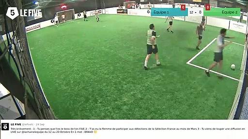 But de Equipe 1 (13-8)