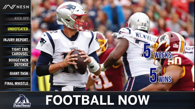 Football Now: Boogeymen Patriots D Gets Set To Take On Giants