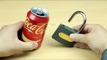 How To Open a Lock with Coca Cola - 3 Ways To Open a Lock without a Key