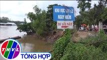 THVL | Bờ kênh Xáng ở An Giang liên tiếp xảy ra sạt lở