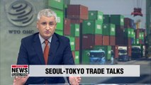 S. Korea, Japan to hold face-to-face talks at WTO over Tokyo's export restrictions