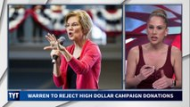 Elizabeth Warren Rejects Big Money Donors