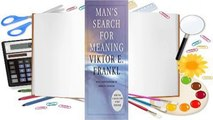 [GIFT IDEAS] Man's Search for Meaning