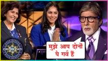 Amitabh Bachchan EMOTIONAL Moment With Deepa Malik & Mansi Joshi | KBC 11 | KARAMVEER SPECIAL