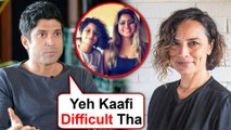 Farhan Akhtar Finally REACTS On His Divorce With Adhuna | The Sky Is Pink Promotions
