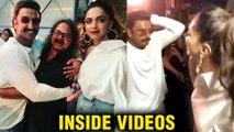 INSIDE VIDEOS   Ranveer Singh And Deepika Padukone ROMANTIC DANCE   83 Movie Wrap Up Party