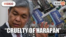 Zahid: Utusan's downfall caused by Harapan's cruelty