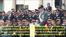 El valiente discurso del jefe de la Guardia Civil en Cataluña que acaba poniendo de los nervios a los Mossos d'Esquadra