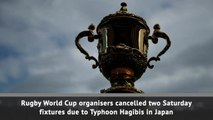 England and New Zealand World Cup games cancelled due to typhoon